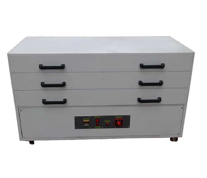 三层网版烘干箱