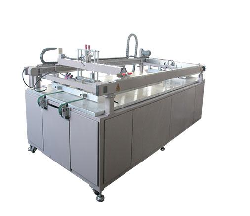 四柱自动出料丝印机
