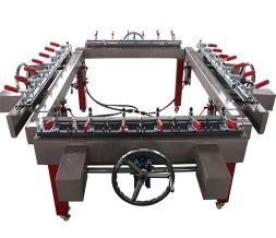 单夹头涡轮气动绷网机