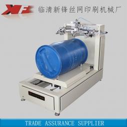 定制印刷蓝桶曲面丝印机